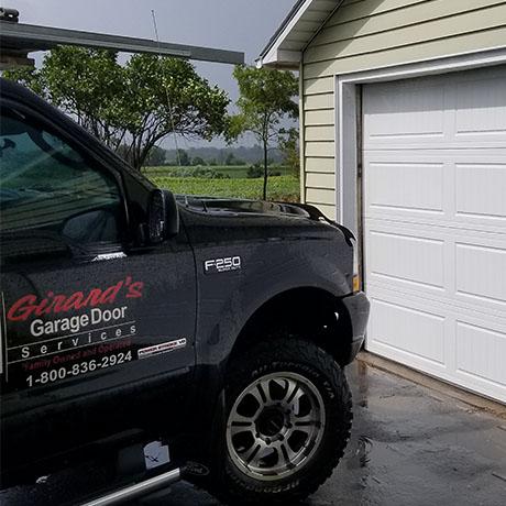 Overhead door fix