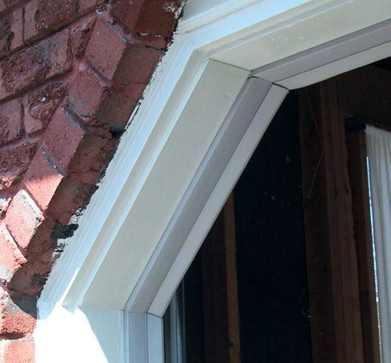 Replace weather stripping for overhead door