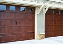 Orion Timberlast Finish Overhead Door